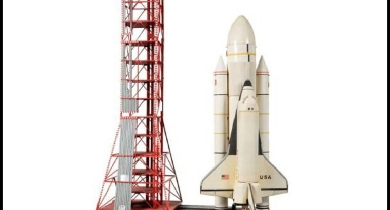 COLUMBIA SHUTTLE AND RESIN MODEL