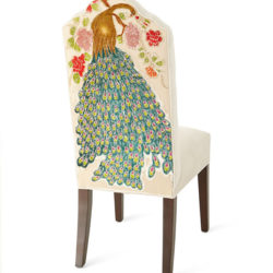 Machiato Peacock Dining Chair
