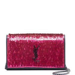 Kate YSL Paillette Wallet On Chain