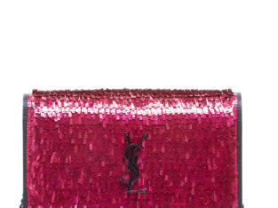 Kate YSL Paillette Wallet On Chain