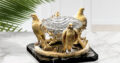 Luxury Decorative Crystal Bowl AGAUE