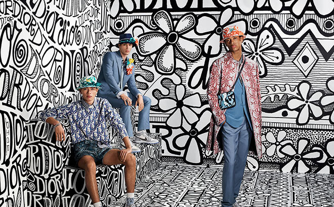 Dior, Shawn Stussy and Steven Meisel Present An All-New Fall 2020 Men's Campaign