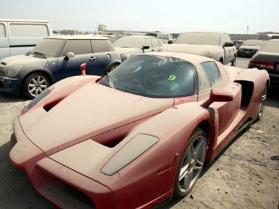 Bentleys Ferraris and Rolls Royces.. Take a look at World's Most Luxurious Car Cemetery in Dubai