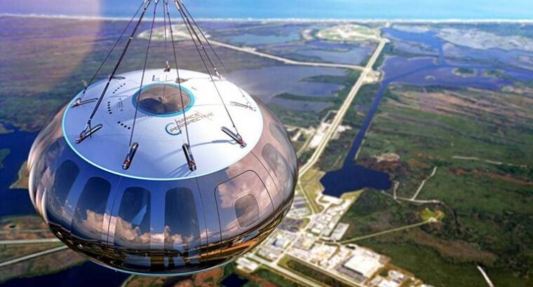 space balloon will take tourists to the edge of the world for $125,000