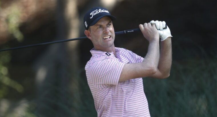 Golf: Simpson leads, Watney leaves after positive COVID-19 test at RBC Heritage