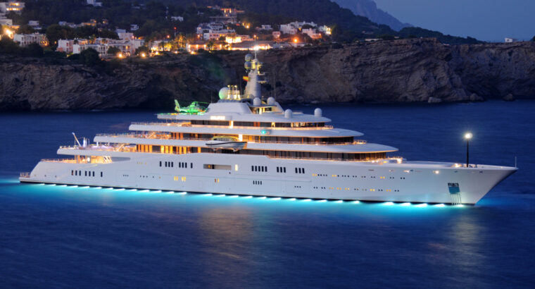 The Top 10 Largest Yachts in the World