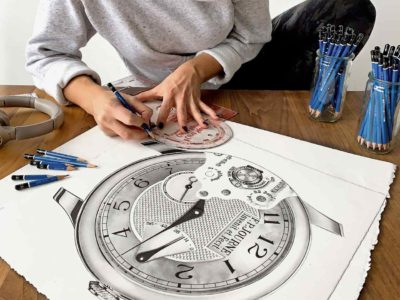 What do you know about The World's First Wristwatch Portraitist