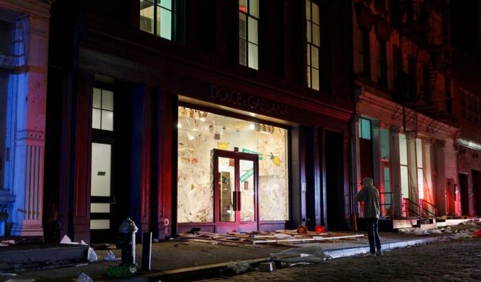 Luxury Stores in NYC's Soho Neighborhood Looted as Nationwide Protests Continue