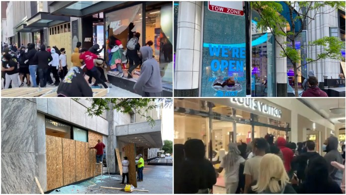 George Floyd protests: Nike, Louis Vuitton, Macy's, Adidas stores vandalised and looted by rioters in the US