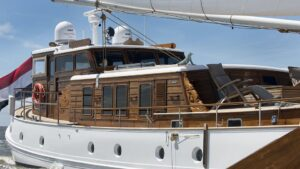 DE VROUWE CHRISTINA YACHT FOR SALE