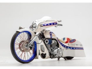 2017 Indian Custom Bagger Evel Stars & Stripes