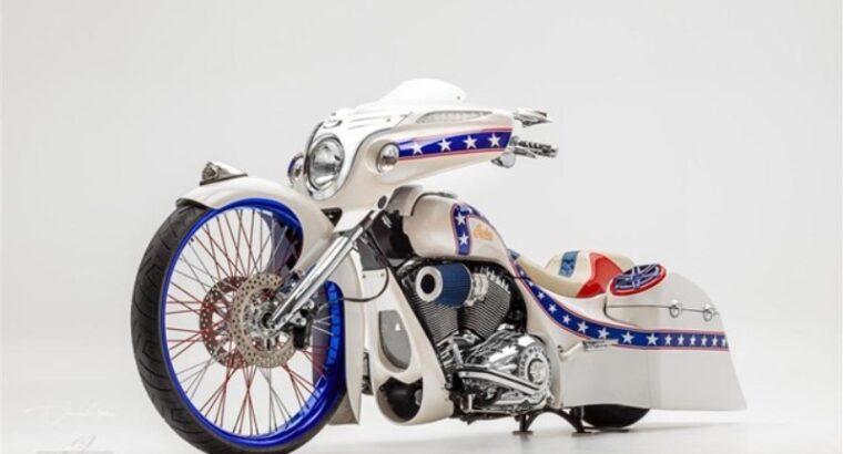 2017 Indian Custom Bagger Evel Stars & Stripes