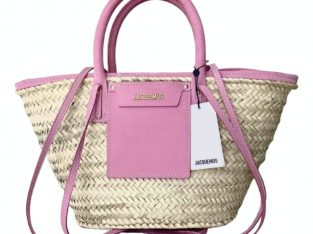 Le Soleil Soleil Jacquemus handbag in natural straw