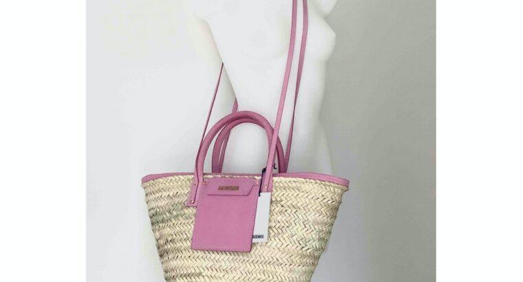Le Soleil Soleil Jacquemus handbag in natural straw