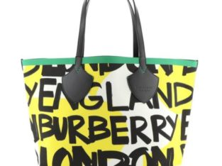 Burberry Reversible Graffiti Giant Tote 10.5″