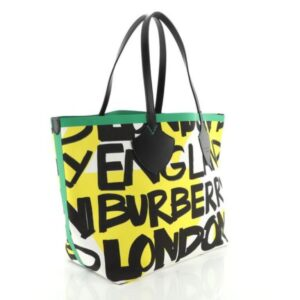 Burberry Reversible Graffiti Giant Tote Printed Canvas XL for sale
