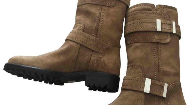Dior BUCKLED BOOTS