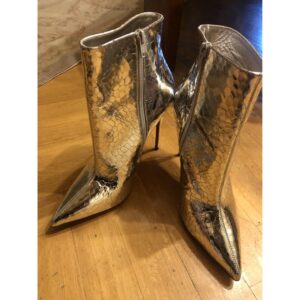 Christian Louboutin LEATHER ANKLE BOOTS for sale