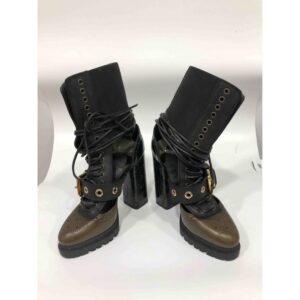 Burberry LEATHER BIKER BOOTS for sale
