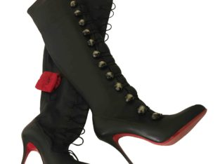 Christian Louboutin LEATHER BOOTS 41 EU