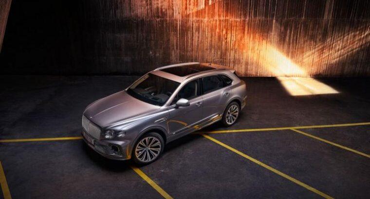 2021 Bentley Bentayga more stylish, comfortable and loaded with tech