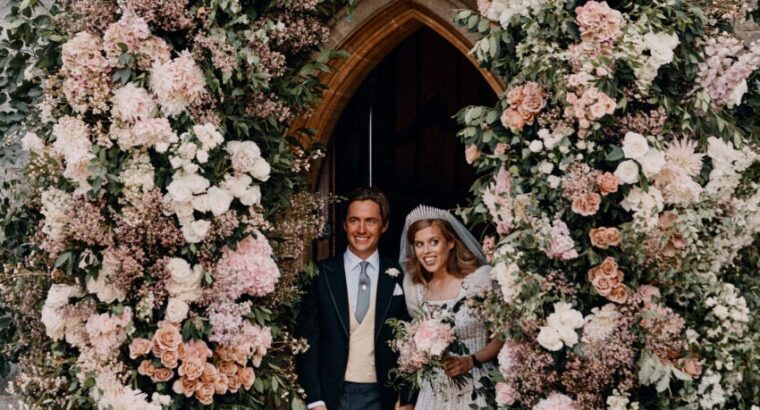 Princess Beatrice's wedding day.. Full story of the secret royal ceremony