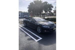 2014 Tesla Model S Convertible for sale