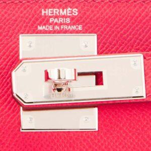 Hermes Kelly 28cm Rose Extreme Epsom Pink Sellier Bag D Stamp, 2019