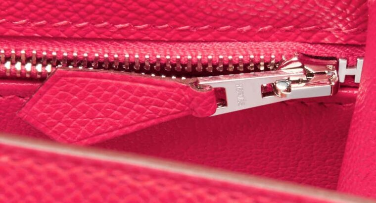 Hermes Kelly 28cm Rose Bag