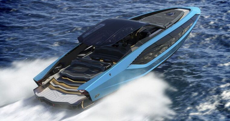 Lamborghini has built a $3.4 million powerboat that packs 4,000 hp