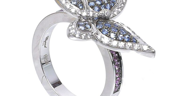 Chopard White Gold Butterfly Diamonds Ring