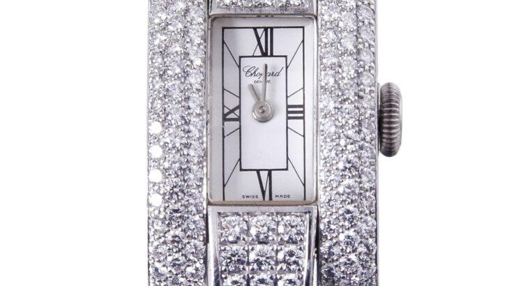 Chopard La Strada 18k Full Diamond Watch
