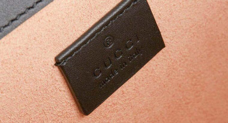 2020 Gucci Red GG Velvet & Black