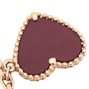 Van Cleef & Arpels18K Yellow Gold Lucky Alhambra 4 Motif Bracelet