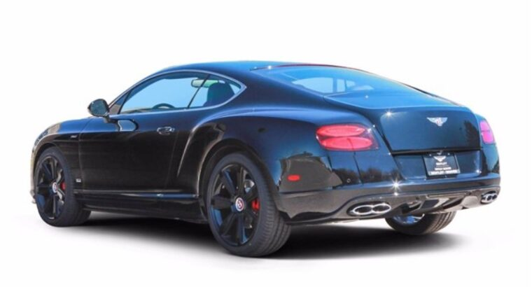 2015 Bentley Continental GT V8 S Concours Black Series
