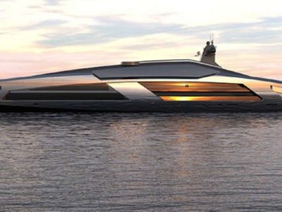 This luxurious 120 Super-yacht is Made of Glass
