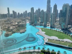 Fully Furnished Apartment Overlooking Dubai Fountain