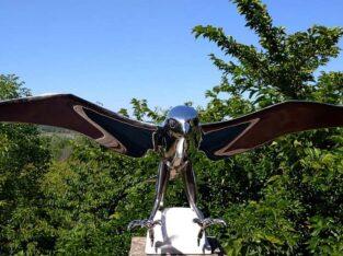 "Lutfi Romhein ""Falcon"" Monumental Bird"