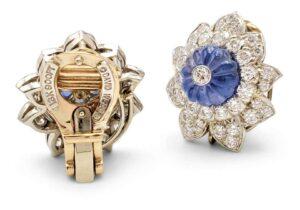 David Webb Girandole Diamond and Gemstone EarringsAbout for sale