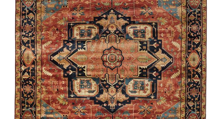 Rosso Fine Serapi Rug, 12′ x 15′ for sale