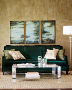 Landis Acrylic Coffee Table   Interlude Home