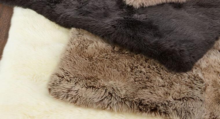 Effie Sheepskin Rug, 11'6″ x 14'6″ for sale