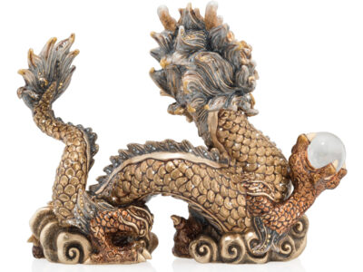 Imperial Dragon Figurine by Jay Strongwater