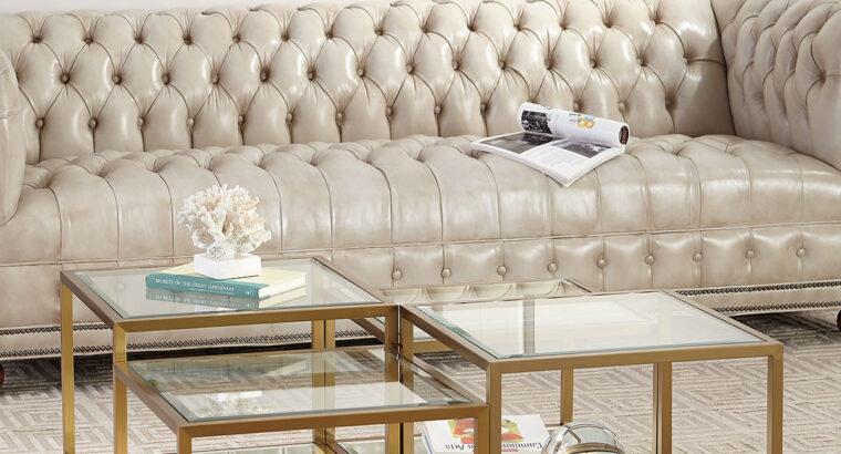 Noel Glass Coffee Table | Regina Andrew Design