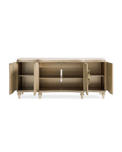 Serve It Up Abalone Shell Console | caracole