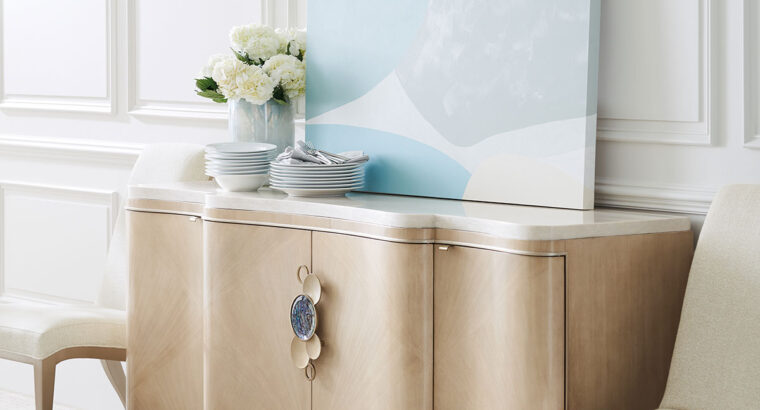 Serve It Up Abalone Shell Console | caracole for $5,569