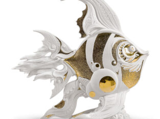 Angelfish Figurine by Lladro