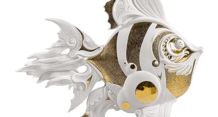 Angelfish Figurine by Lladro