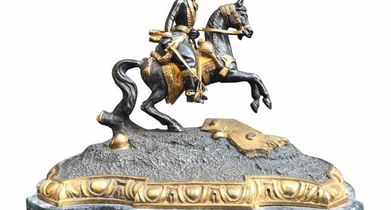 JOACHIM MURAT ON PRANCING HORSE 19TH CENTURY