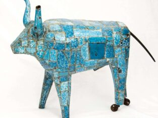 Susan Valyi Big Blue Bull
